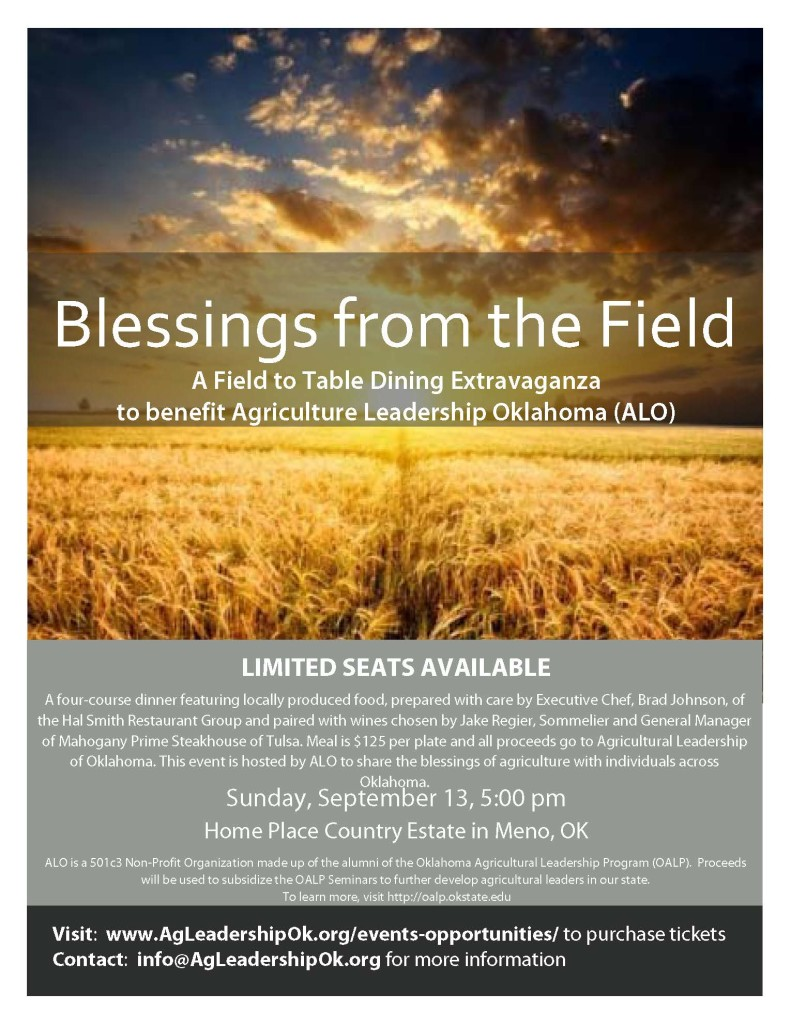 BlessingFromTheFieldFlyer.8.13